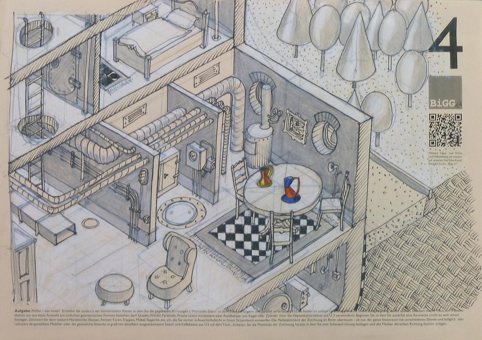 Gebundenes Zeichnen Detmolder Schule für Architektur und ...