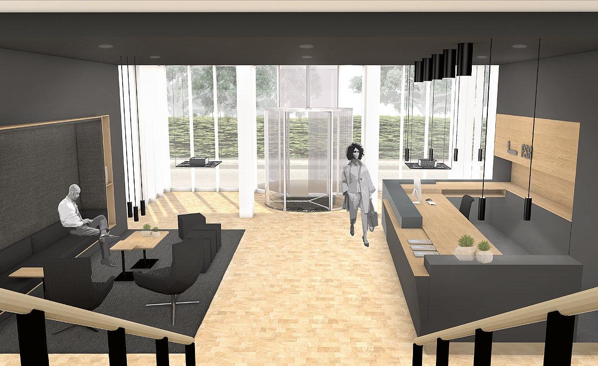 Neuer Eingangsbereich für FSB Detmolder Schule für Architektur ...