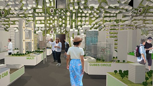 "Der Deutsche Pavillon CAMPUS GERMANY: Ausstellung, ""Future City Lab"""